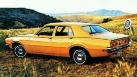 1972 Mercury Comet 4 Door