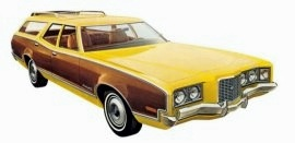 1972 Mercury Montego MX Villager