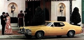 1973 Mercury Cougar 2 Door