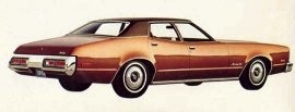 1973 Mercury Montego 4 Door