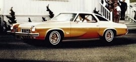 1973 Oldsmobile Cutlass S Holiday Coupe