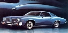 1973 Pontiac LeMans Luxury 2 Door