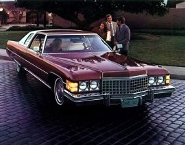 1974 Cadillac DeVille Coupe