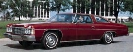 1974 Chevrolet Impala Custom Coupe
