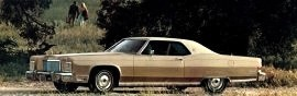 1974 Lincoln Continental Coupe