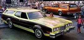 1974 Mercury Montego MX Villager