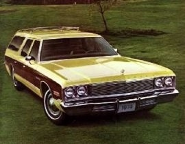 1974 Plymouth Gran Fury Wagon