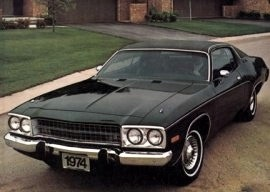 1974 Plymouth Satellite 2 Door