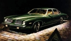 1974 Pontiac Grand Am 4 Door