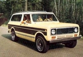 1976 International Scout Traveller