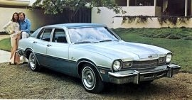 1976 Mercury Comet 4 Door