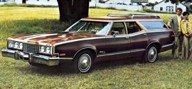 1976 Mercury Montego MX Villager