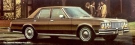 1977 Dodge Diplomat Medallion
