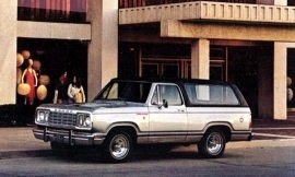 1977 Dodge Ramcharger 2WD