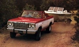 1977 Dodge Ramcharger Convertible