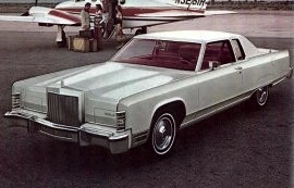 1977 Lincoln Continental 2 Door