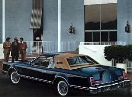 1977 Lincoln Mark 5 Bill Blass Edition