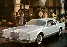 1977 Lincoln Mark 5 Cartier Edition