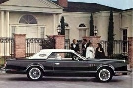 1977 Lincoln Mark 5 Pucci Edition