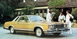 1977 Mercury Monarch Ghia Coupe