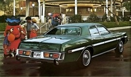 1977 Plymouth Fury Salon 4 Door