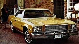 1977 Plymouth Gran Fury 2 Door Hardtop