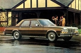 1978 Dodge Diplomat Medallion