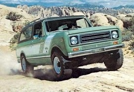 1978 International Scout Traveller