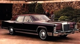 1978 Lincoln Continental Williamsburg Town Car Edition