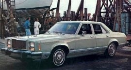 1978 Mercury Monarch Ghia