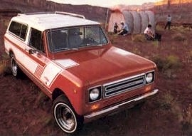 1979 International Scout Traveller