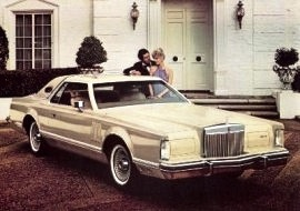 1979 Lincoln Mark 5 Cartier Edition