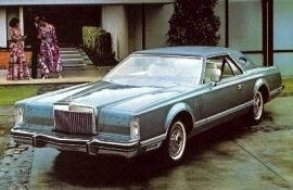 1979 Lincoln Mark 5 Pucci Edition