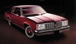 1979 Oldsmobile Delta 88 Holiday Coupe