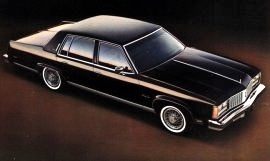 1979 Oldsmobile Ninety Eight Regency Sedan
