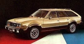 1980 AMC Eagle 4WD Wagon