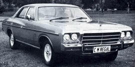 1980 Chrysler Valiant CM Regal