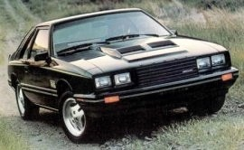1980 Mercury Capri Turbo RS