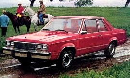1980 Mercury Zephyr 2-Door