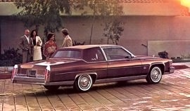 1981 Cadillac Fleetwood Brougham Coupe