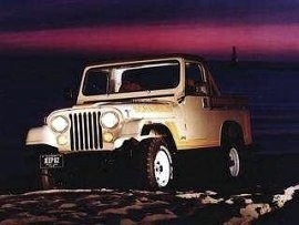 1982 Jeep CJ7 Scrambler