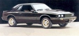 1982 Mercury Capri Black Magic