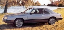1982 Mercury Capri GS