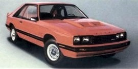 1982 Mercury Capri RS