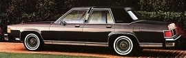 1982 Mercury Grand Marquis