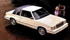 1982 Plymouth Reliant K 2-Door
