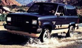 1984 Ford Bronco II XLS