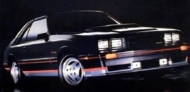 1984 Mercury Capri RS Turbo