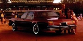 1984 Oldsmobile Delta 88 Royale Sedan