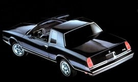 1985 Chevrolet Monte Carlo T-Top
